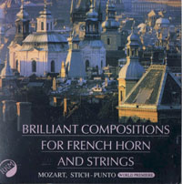 Brilliant compositions for horn and strings