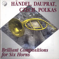 Brilliant compositions for six horns